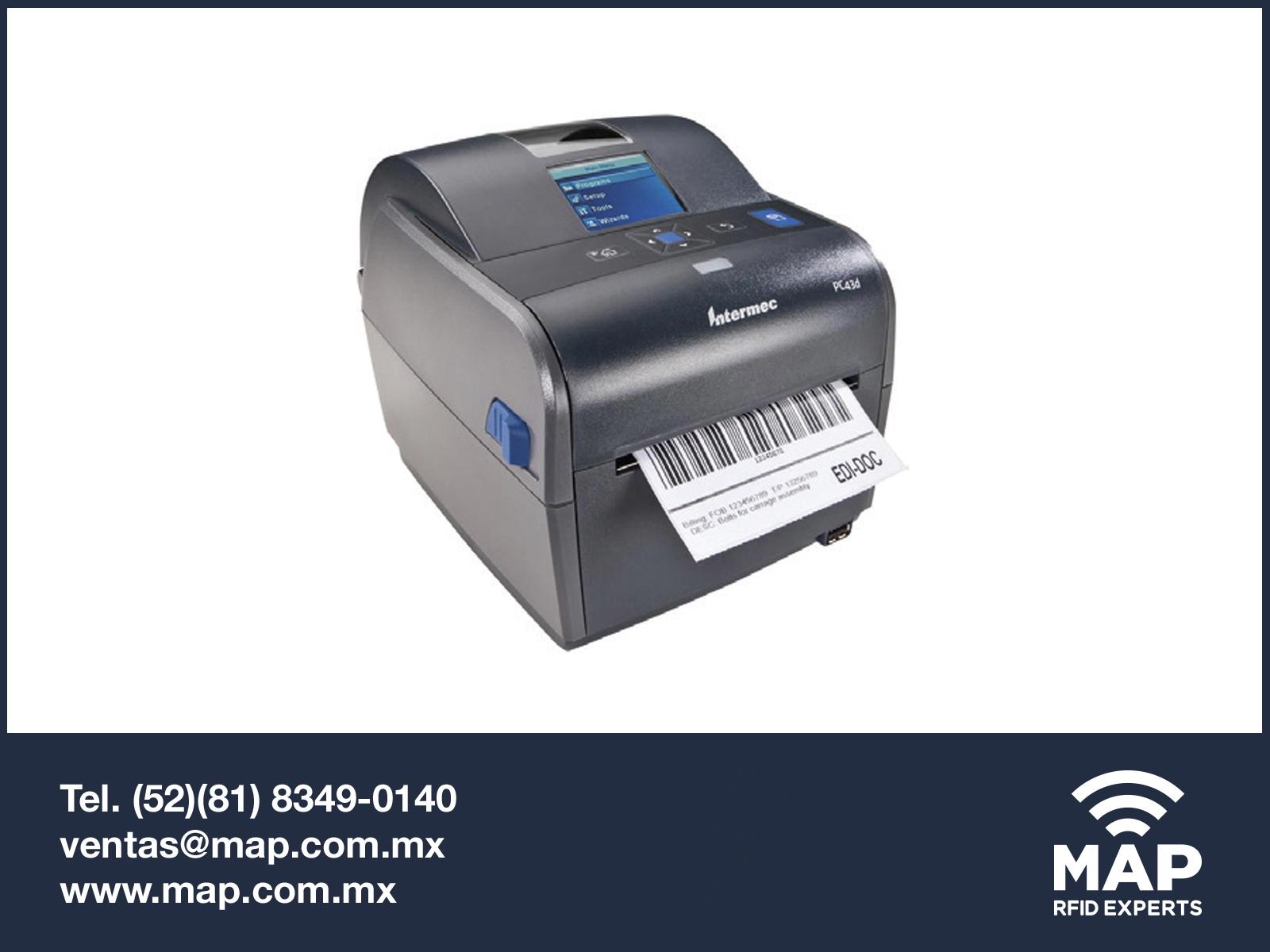 Impresora De Escritorio Intermec Pc43d Productos Rfid En